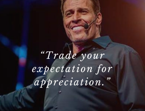 Trade Your Expectation For Appreciation