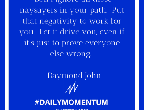 Don't Ignore The Naysayers