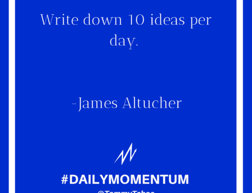 10 Ideas Per Day