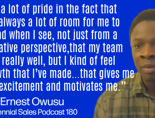 180: Ernest Owusu, Sr. Director of Sales Development at 6sense