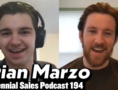 194: Brian Marzo – Being A First-Time Sales Leader