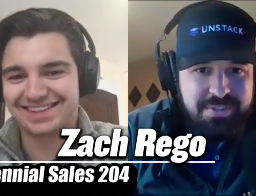 "204: Zach Rego – What To Do If You're ""Stuck"" As An SDR"