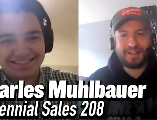 208: Charles Muhlbauer – Accountant Turned Salesperson and Sales Coach