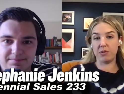 233: Sales Isn't A Grind If You Have A Mission: Stephanie Jenkins, Flowhub CRO