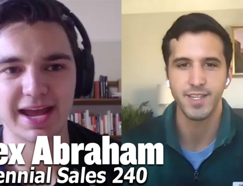 240: The Mindset of Cold Calling with Alex Abraham, Enterprise Growth at Segment