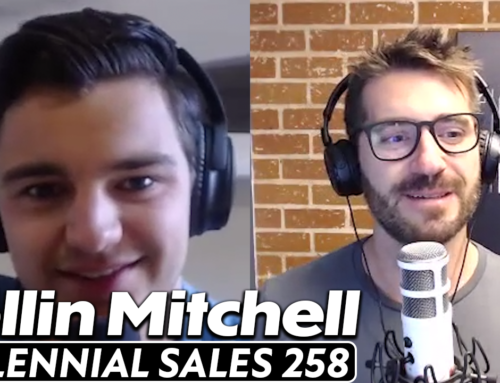 259: Hustling, Personal Development and Mindfulness Tips w/ Collin Mitchell, CRO & Podcast Host at Salescast